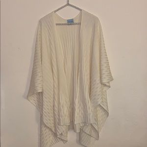 Kate Landry shawl cape sweater